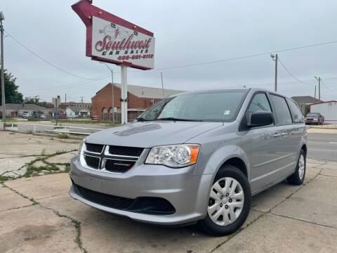 2014 Dodge Grand Caravan for sale at Southwest Car Sales in Oklahoma City OK