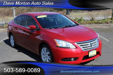 2013 Nissan Sentra for sale at Dave Morton Auto Sales in Salem OR