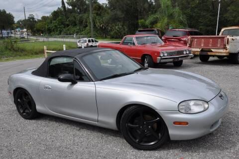 1999 Mazda MX-5 Miata for sale at Elite Motorcar, LLC in Deland FL