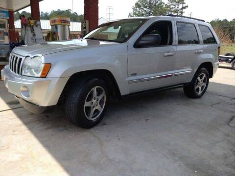 2006 Jeep Grand Cherokee for sale at A&Q Auto Sales in Gainesville GA