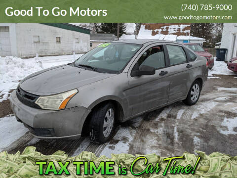 2009 Ford Focus for sale at Good To Go Motors in Lancaster OH