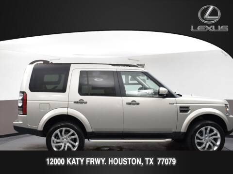 2016 Land Rover LR4 for sale at LEXUS in Houston TX
