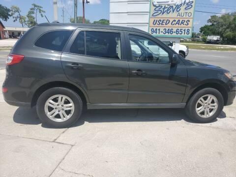 2010 Hyundai Santa Fe for sale at Steve's Auto Sales in Sarasota FL
