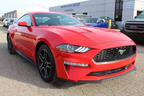2019 Ford Mustang for sale at SHAFER AUTO GROUP in Columbus OH