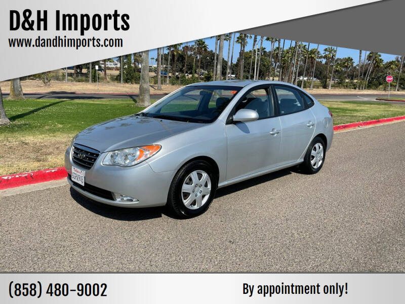 2008 Hyundai Elantra for sale at D&H Imports in San Diego CA