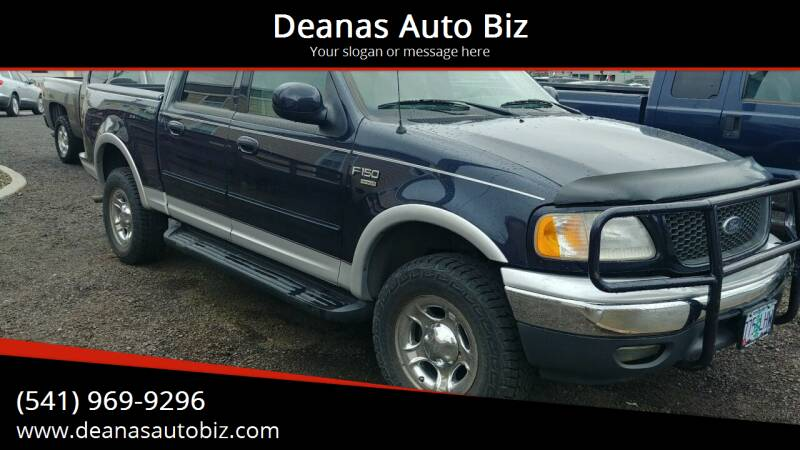 2001 Ford F-150 for sale at Deanas Auto Biz in Pendleton OR