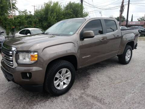 2016 GMC Canyon for sale at RICKY'S AUTOPLEX in San Antonio TX