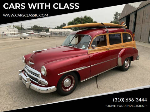 1951 Chevrolet Master Deluxe for sale at CARS WITH CLASS in Santa Monica CA
