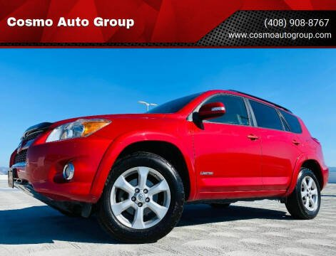 2010 Toyota RAV4 for sale at Cosmo Auto Group in San Jose CA