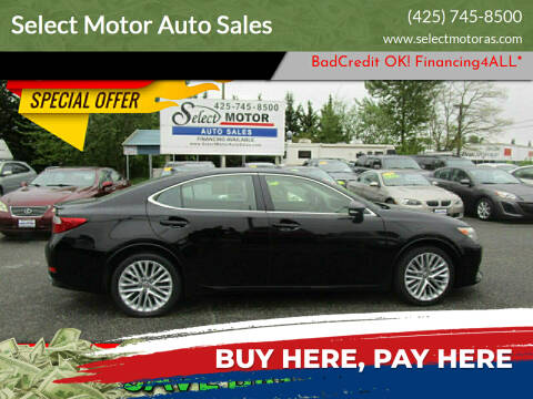 2013 Lexus ES 350 for sale at Select Motor Auto Sales in Lynnwood WA