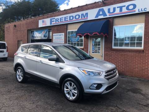 2017 Ford Escape for sale at FREEDOM AUTO LLC in Wilkesboro NC