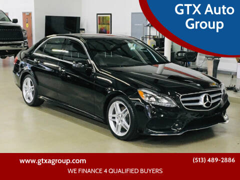 2014 Mercedes-Benz E-Class for sale at GTX Auto Group in West Chester OH