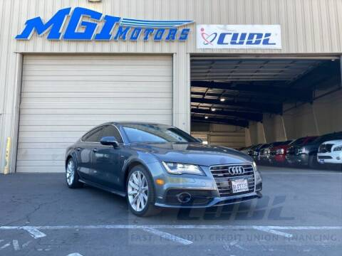 2012 Audi A7 for sale at MGI Motors in Sacramento CA
