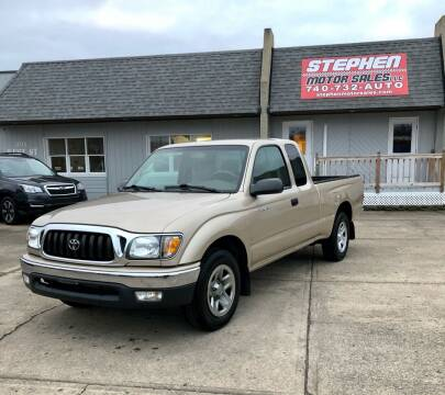 2004 Toyota Tacoma for sale at Stephen Motor Sales LLC in Caldwell OH