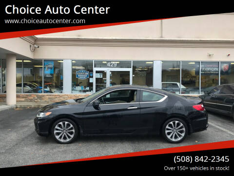 2013 Honda Accord for sale at Choice Auto Center in Shrewsbury MA