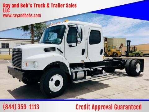 2007 Freightliner Business Class Crew Cab for sale at Ray and Bob's Truck & Trailer Sales LLC in Phoenix AZ