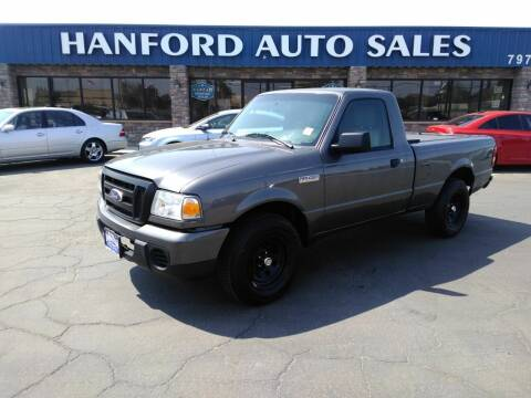 2010 Ford Ranger for sale at Hanford Auto Sales in Hanford CA