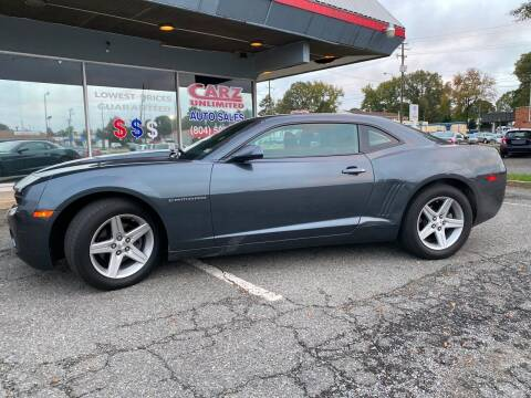 2011 Chevrolet Camaro for sale at Carz Unlimited in Richmond VA