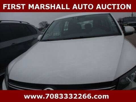 2014 Volkswagen Tiguan for sale at First Marshall Auto Auction in Harvey IL