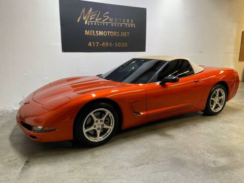2002 Chevrolet Corvette for sale at Mel's Motors in Nixa MO