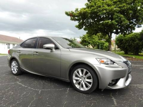 2016 Lexus IS 200t for sale at SUPER DEAL MOTORS 441 in Hollywood FL