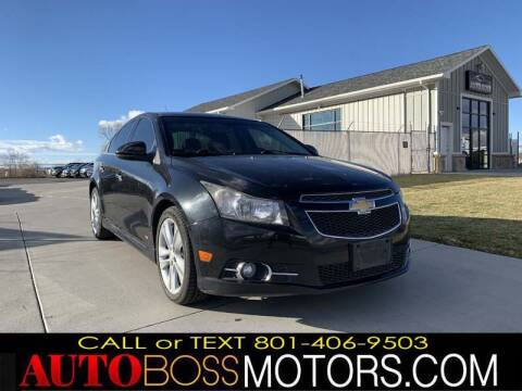 2013 Chevrolet Cruze for sale at Auto Boss in Woodscross UT