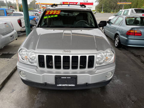 2007 Jeep Grand Cherokee for sale at Low Auto Sales in Sedro Woolley WA