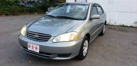 2004 Toyota Corolla for sale at Union Street Auto in Manchester NH