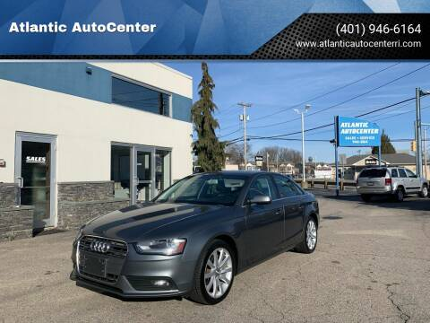 2013 Audi A4 for sale at Atlantic AutoCenter in Cranston RI