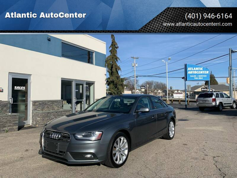 2013 Audi A4 for sale at Atlantic AutoCenter in Cranston RI