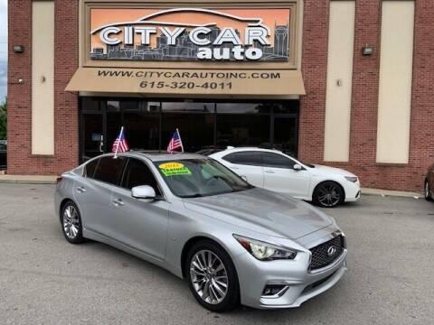 2018 Infiniti Q50 for sale at CITY CAR AUTO INC in Nashville TN