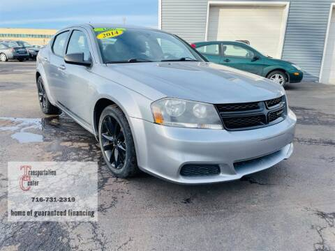2014 Dodge Avenger for sale at Transportation Center Of Western New York in Niagara Falls NY