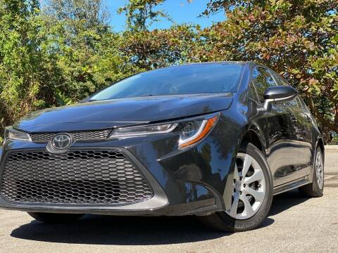 2020 Toyota Corolla for sale at HIGH PERFORMANCE MOTORS in Hollywood FL