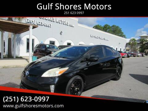 2014 Toyota Prius for sale at Gulf Shores Motors in Gulf Shores AL