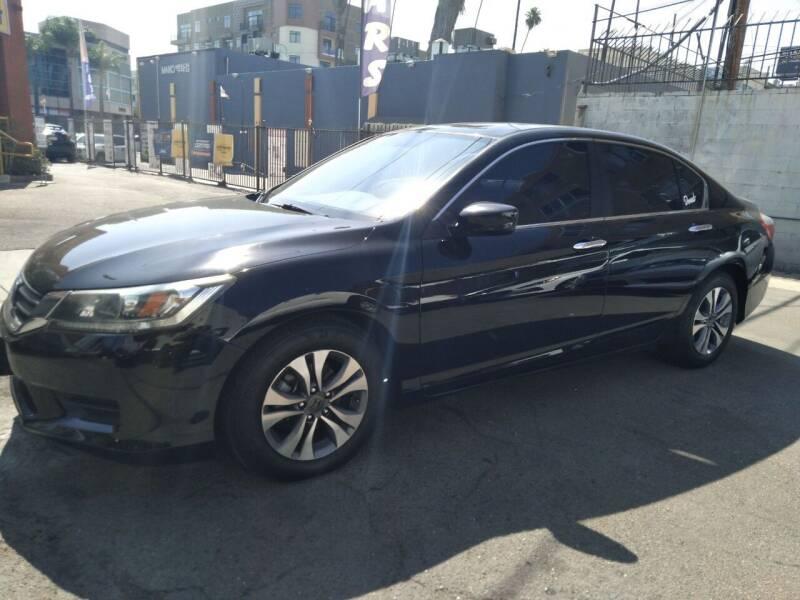 2015 Honda Accord for sale at Western Motors Inc in Los Angeles CA