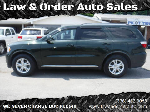 2011 Dodge Durango for sale at Law & Order Auto Sales in Pilot Mountain NC