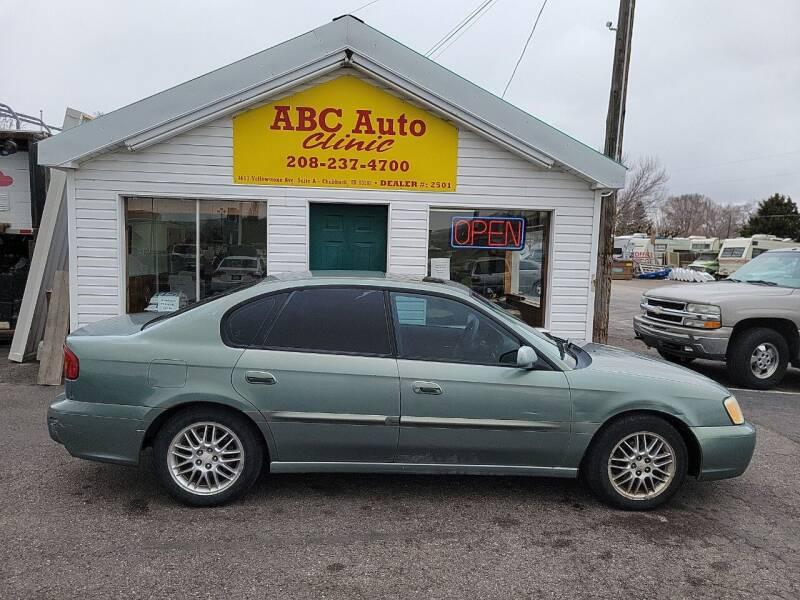 2003 Subaru Legacy for sale at ABC AUTO CLINIC - Chubbuck in Chubbuck ID