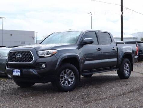 2017 Toyota Tacoma for sale at BIG STAR HYUNDAI in Houston TX