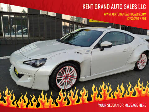 2016 Scion FR-S for sale at KENT GRAND AUTO SALES LLC in Kent WA