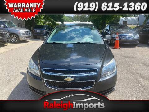 2012 Chevrolet Malibu for sale at Raleigh Imports in Raleigh NC