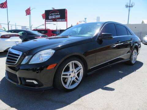 2011 Mercedes-Benz E-Class for sale at Moving Rides in El Paso TX