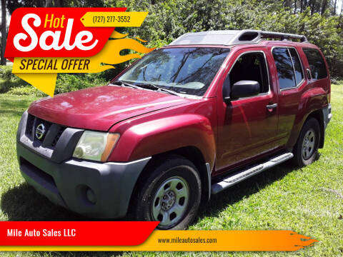 2006 Nissan Xterra for sale at Mile Auto Sales LLC in Holiday FL