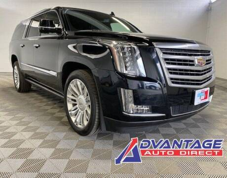 2016 Cadillac Escalade ESV for sale at Advantage Auto Direct in Kent WA