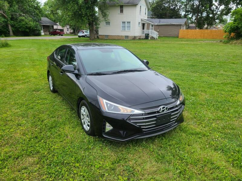 2019 Hyundai Elantra for sale at Cleveland Avenue Autoworks in Columbus OH
