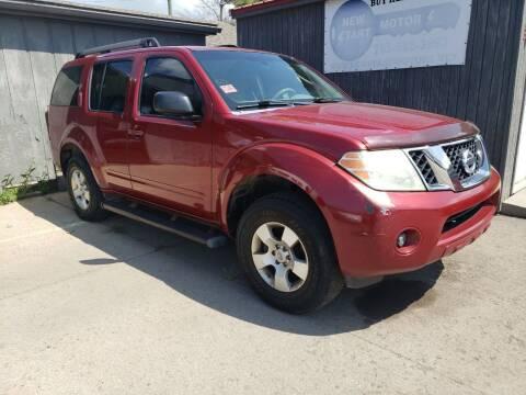 2008 Nissan Pathfinder for sale at New Start Motors LLC - Crawfordsville in Crawfordsville IN