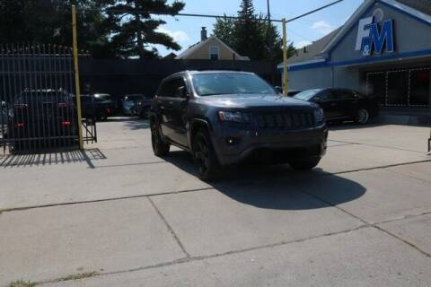2014 Jeep Grand Cherokee for sale at F & M AUTO SALES in Detroit MI