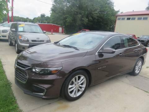 2016 Chevrolet Malibu for sale at Azteca Auto Sales LLC in Des Moines IA