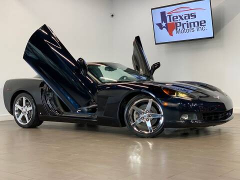 2007 Chevrolet Corvette for sale at Texas Prime Motors in Houston TX