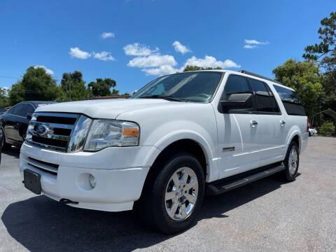 2008 Ford Expedition EL for sale at Upfront Automotive Group in Debary FL