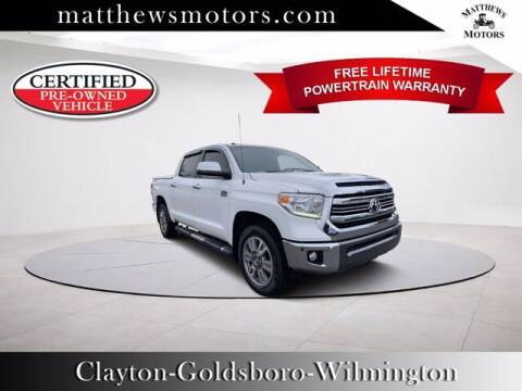 2016 Toyota Tundra for sale at Auto Finance of Raleigh in Raleigh NC